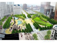 Cleveland Public Square - After