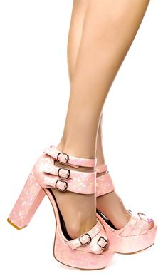 Ego and Greed Neptune Heel #holographic #pink