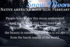 Native American Moon Sign: February Snow Moon Didn& know there was native american astrology Astrology And Horoscopes, Astrology Zodiac, Pisces, Zodiac Signs, Celtic Astrology, Astrology Numerology, Native American Astrology, Native American Wisdom, American Indians