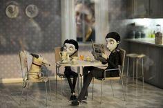 """Tim Burton movie """" Frankenweenie"""""""