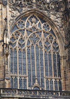 Prague, Part 22: Katedrála svatého Víta (St. Vitus Cathedral), exterior | Adam Paul