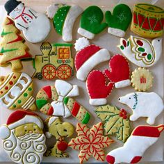 Christmas Cookies | Cookie Connection    ClassicCookies by Parr