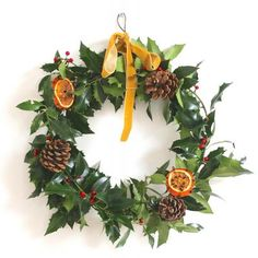 Holly Jolly Rustic Wreath