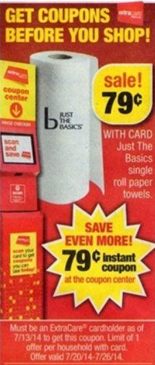 FREE CVS Brand Paper Towels Starting Sunday (7/20)