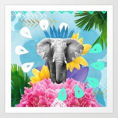 Tembo Festival Art Print