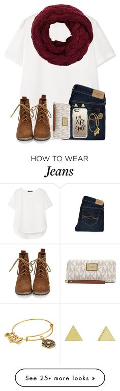 """➳ Lost My Wayy ➳"" by twaayy on Polyvore featuring MANGO, Abercrombie & Fitch, MICHAEL Michael Kors, Casetify, Jennifer Meyer Jewelry and Alex and Ani"