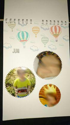 Kalender, Juni, Stampin Up