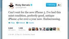 Still the Best Medicine.....Funny Celebrity Tweets: Antique iPhone