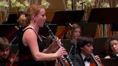 W.A.Mozart: Clarinet concerto in A major, K.622 with Nadja Drakslar