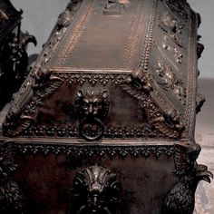 An unique coffin for the head of vamps Castlevania Dracula, Castlevania Netflix, Vampires, Timothy Green, The Vampire Chronicles, Interview With The Vampire, Arte Obscura, Creatures Of The Night, Alucard