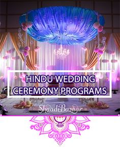 From the many #Hindu wedding #ceremony versions here is one to help you in creating your own. #indianwedding #shaadibazaar #wedding