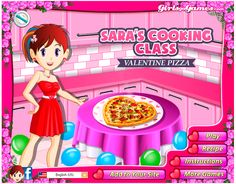 Sara is a cute kid who is trying to learn how to cook and along with her you are also granted such kind of possibility to help her in her task. It's so amazing and breathtaking to be helpful for her and take part in cooking. http://www.jogosdafrozen.com/celebridades/valentine-pizza-saras-cooking-class