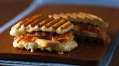Precooked bacon and cheese are great additions to chicken in these tasty panini. making these tonight !