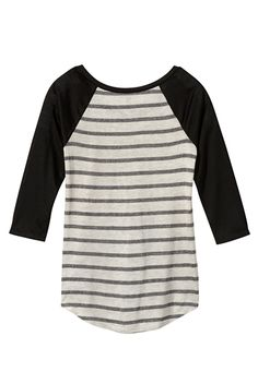 """Live for today"" raglan stripe graphic tee - maurices.com"