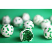 St. Patrick's Day Cake Balls  #St.Patrick's Day #Desserts