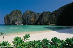 Krabi Beach. Not as beautiful as Indonesia, but hey .. This place is enjoyable!