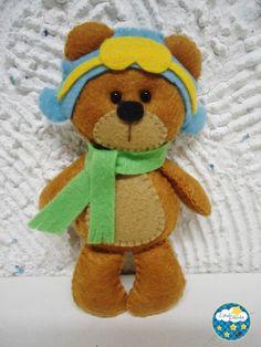 urso aviador | aviator bear