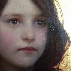 "Cromofora La ( Paloma) Contemporary Art Gallery/Magazine: JEREMY LIPKING ""A portrait of my daughter Skylar."""