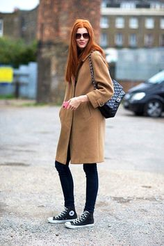 9 Inspiring Redheads Long Red Hair Inspiration Camel Coat Converse High Top Sneakers Model Street Style Via Harpers Bazaar photo 9-Inspiring-Redheads-Long-Red-Hair-Inspiration-Camel-Coat-Converse-High-Top-Sneakers-Model-Street-Style-Via-Harpers-Bazaar.jpg