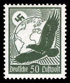 1934 Luftpost airmail third reich