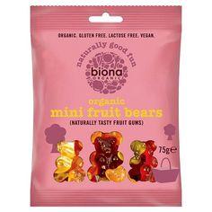 Gummies || Organic Mini Fruit Bears