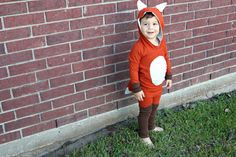 taylor made: DIY fox costume