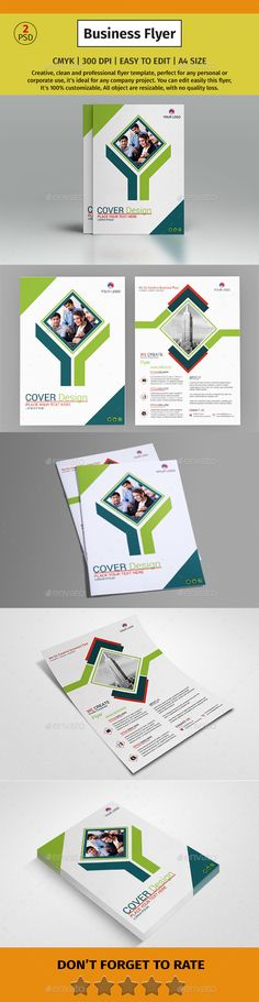 Corporate Business Flyer #50 - Corporate #Flyers Download here: https://graphicriver.net/item/corporate-business-flyer-50/20160223?ref=alena994