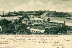 Bassin de Radoub et Fort Saint-Louis, Fort-de-France -  Carte postale, Mac Hugh & Cie -  Date inconnue