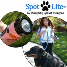 Most people are afraid of taking their dogs for a walk at night because its dark and lets face it, you might not be able to see whats around you or where Fido does his business so you can pick it up.