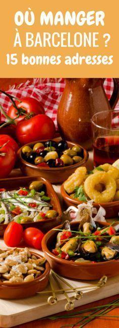 Tapas, sangria et autres spécialités espagnoles : 15 bonnes adresses pour manger à Barcelone !