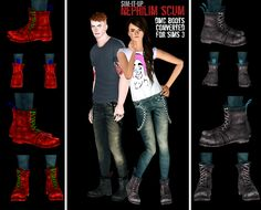 DMC boots by sim-it-up
