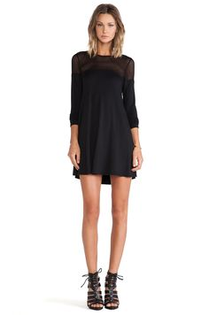 Riller & Fount Rochelle Tunic in Black | REVOLVE