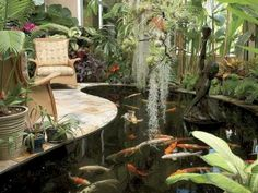 nice 15 Simple DIY Indoor Water Pool Garden