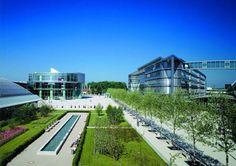 Audi Headquarters, Ingolstadt, Bavaria, Germany