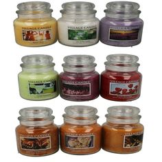 VILLAGE CANDLES 105 HOURS BURNING TIME CANDLE JAR WITH  2 WICK STYLE NO - 14501