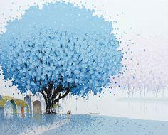 Pittura di paesaggio dai mille colori