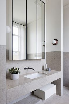 Bathroom Mirror Cabinets bathroom mirrors and cabinets endearing best 25 bathroom mirror cabinet ideas SJONMMX Bad Inspiration, Bathroom Design Inspiration, Bathroom Inspo, Bathroom Interior Design, Modern Bathroom, Small Bathroom, Master Bathroom, Bathroom Ideas, Minimal Bathroom