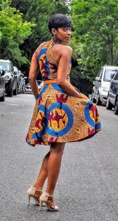 New listing Tahama dress by HouseofAfrika on Etsy