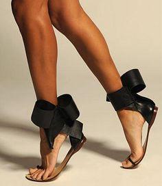615068541ca3 New Fashion Big Bow Tie Women Sandals - Avenue of Angels