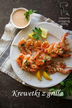 Kulinarne przygody Gatity: Grillowane krewetki z czosnkiem