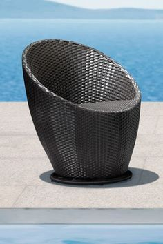Cabo Chair - Espresso by Zuo Modern on Modern Chairs, Modern Patio, Patio Chairs, Cabo, Wicker, Outdoor Living, Living Spaces, Outdoor Furniture, Contemporary