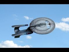 RC Enterprise D Review and Maiden Flight ML: This nut made a real flying Enterprise model. Uhhay!