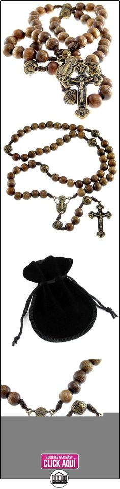 De madera cuentas de rosario de nuestro Padre  ✿ Joyas para mujer - Las mejores ofertas ✿ ▬► Ver oferta: https://comprar.io/goto/B00O8S487Q