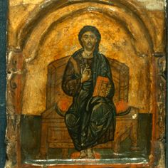 Icon from St. Catherine monastery in Sinai.