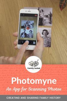 Photomyne: An App for Scanning Family Photos