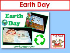 Ideas for celebrating Earth Day in your preschool or kindergarten classroom