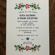 This listing is for 50 Wedding Invitations, RSVP Cards and belly bands with coordinating postal envelopes. 320 GSM cream canvas card used. The wording can be printed as seen in photos or adjusted to suit the feel of your special day. Approximate Dimens...