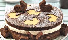 Schoko-Torte mit Eierlikörsahne Rezept: Höchst aromatische Torte und auch optisch ein Genuss - Eins von 7.000 leckeren, gelingsicheren Rezepten von Dr. Oetker!