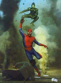 Spiderman 2002, Spider Man Trilogy, Real Spiders, Marvel Paintings, Scarlet Spider, Spider Verse, Batman Robin, Character Drawing, Marvel Heroes