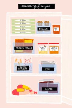 How to Organize a Freezer - Top, Drawer, Chest | Kitchn...
